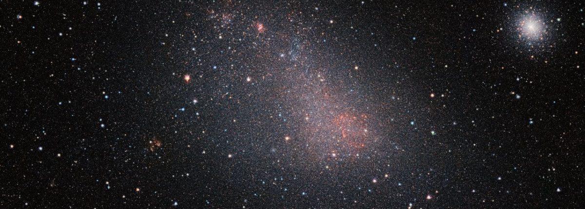 Получено самое подробное изображение Малого Магелланова Облака в инфракрасном диапазоне