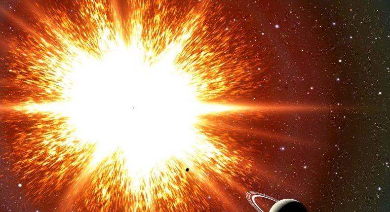 Какое расстояние между нами и сверхновой можно считать безопасным?