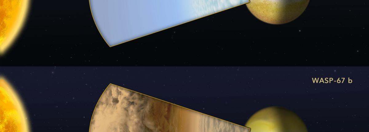 Природа обманчива: одинаковые на первый взгляд экзопланеты имеют разную атмосферу