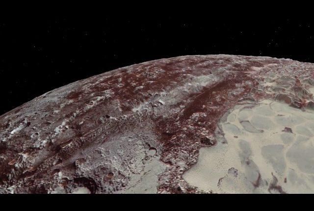 Полет над Плутоном и Хароном