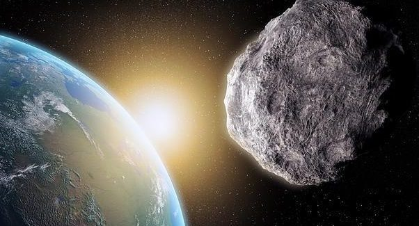 Первого сентября рядом с Землей пролетит большой астероид