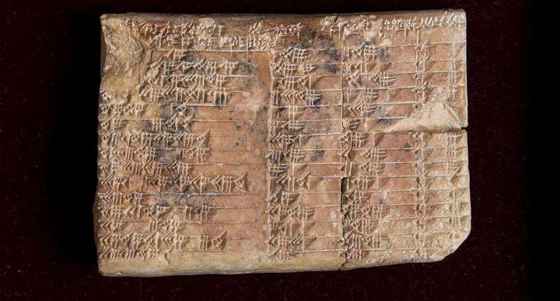 Математическая тайна древней вавилонской глиняной таблички решена
