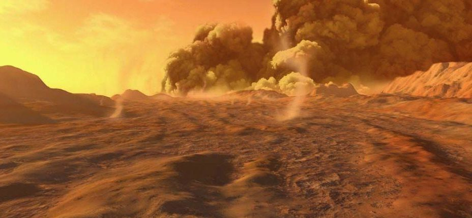 Погода на Марсе: «Облачно, большая вероятность ночной метели»
