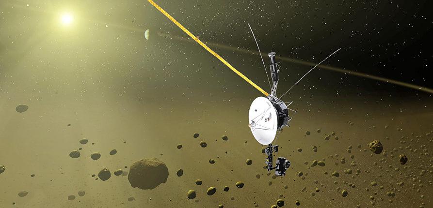 Космический корабль «Вояджер» обнаружил увеличение плотности космоса за пределами Солнечной системы