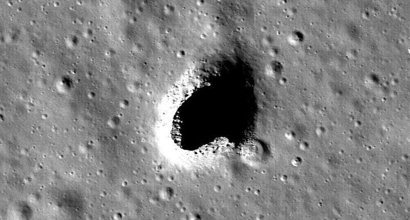 Потенциальная среда обитания человека, расположена на Луне