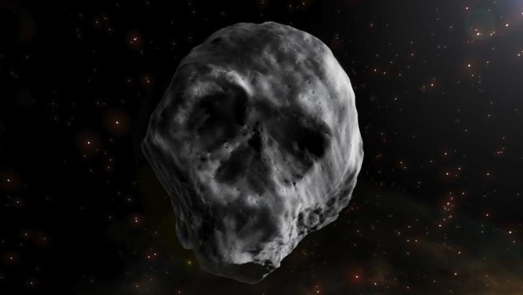 Невероятно жуткий астероид — череп собирается совершить круиз к Земле в следующем году