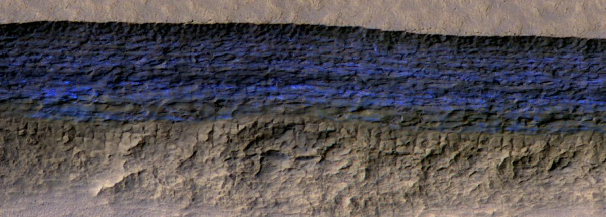 «Фантастическая находка»: Марс прячет толстые листы льда чуть ниже поверхности
