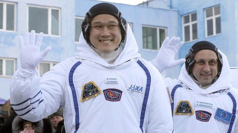 Японский астронавт вырос на 9 сантиметров на борту МКС, всего за три недели