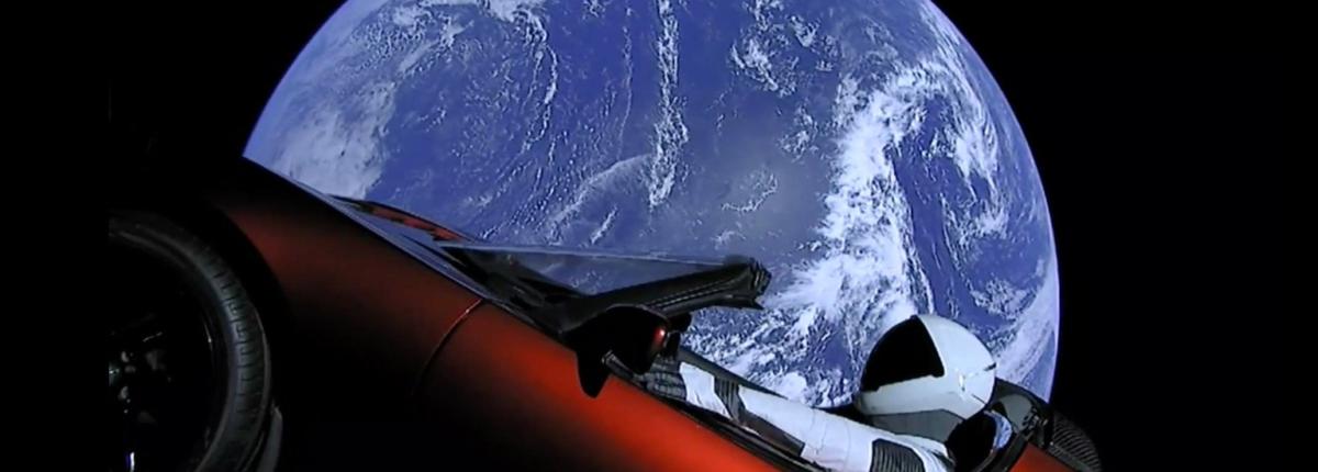 Что станет с суперкаром Tesla, отправленным SpaceX в космос