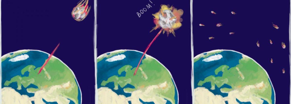 Российские физики взорвали лазером «угрожающий Земле» астероид