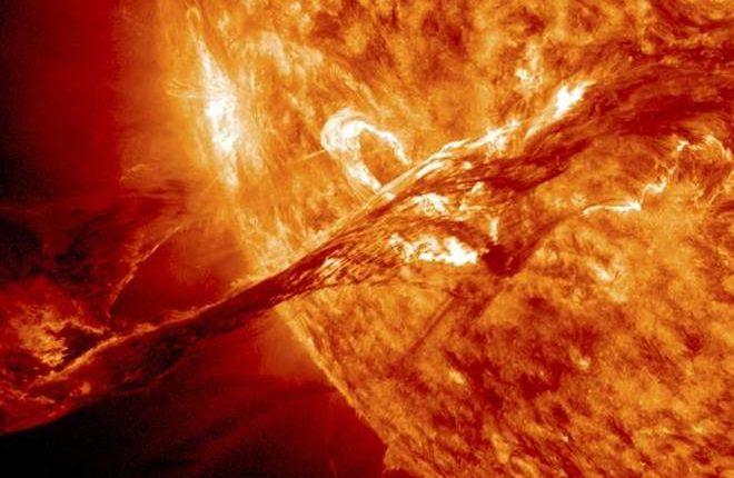 Спутники NASA воссоздают солнечный выброс в 3D