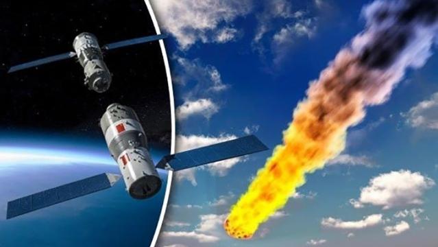 На следующей неделе Китайская космическая станция упадет на Землю