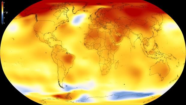 NASA: 140 лет на Земле повышается температура