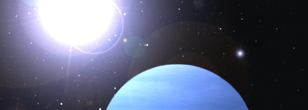 Открыта первая безоблачная экзопланета