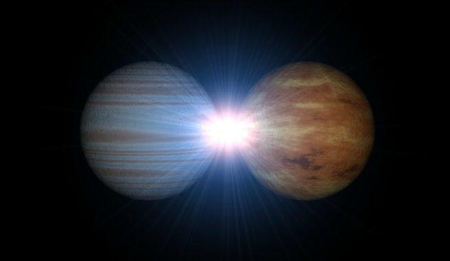 Венера и Юпитер меняют орбиту Земли каждые 405 000 лет