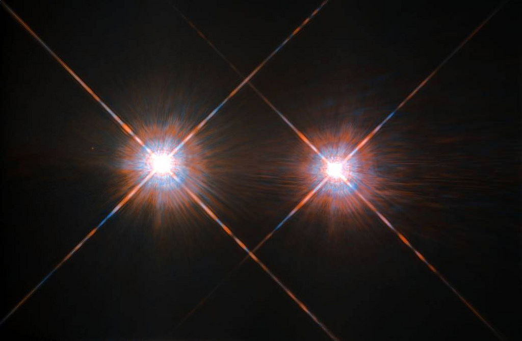 альфа центавра звезда фото хаббла веранде