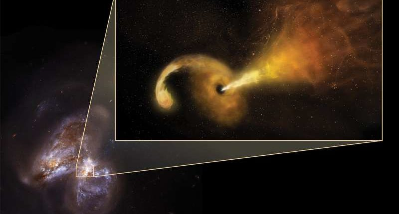 Астрономы наблюдают поглощение звезды черной дырой
