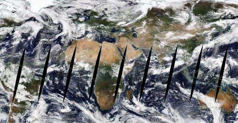 Невероятное видео от NASA: 20 лет наблюдений Земли за 2 минуты
