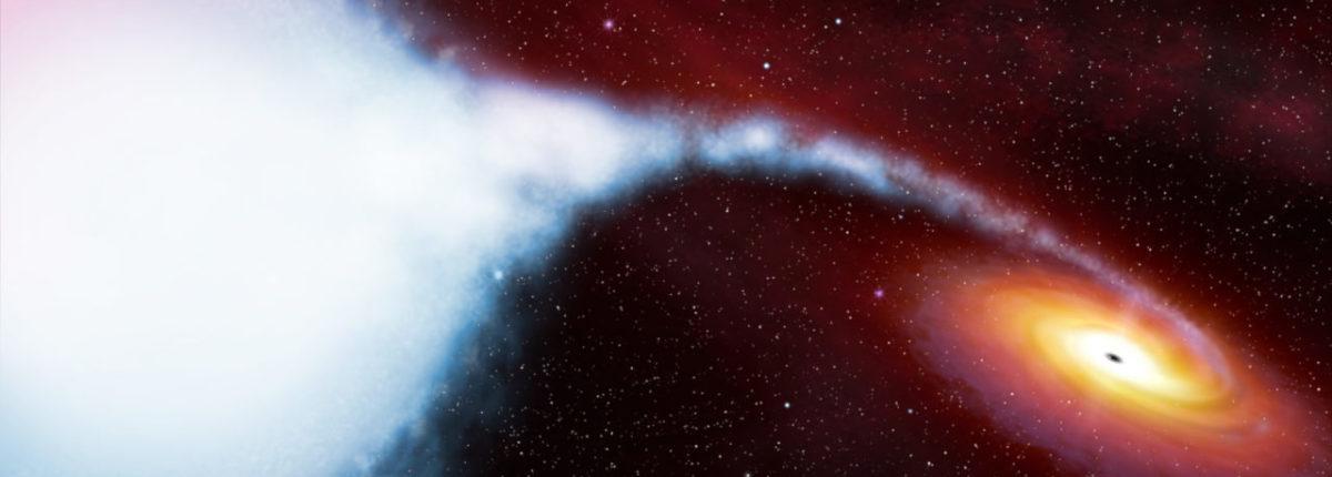 Новая технология позволила выявить неизвестные свойства черной дыры