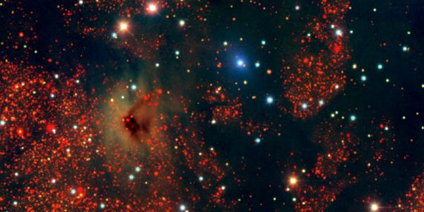 Пыль тайной галактики оказалась похожа на пыль Млечного пути