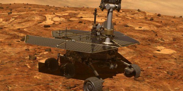 Марсаход «Оппортьюнити» почти месяц не выходит на связь