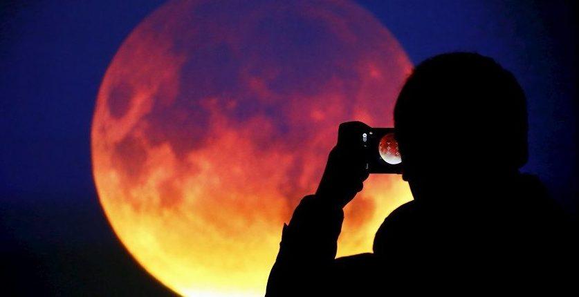 Полное лунное затмение 2018: Как увидеть «Кровавую Луну» онлайн