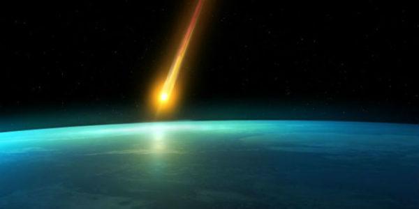 Над американским небом взорвался огненный шар