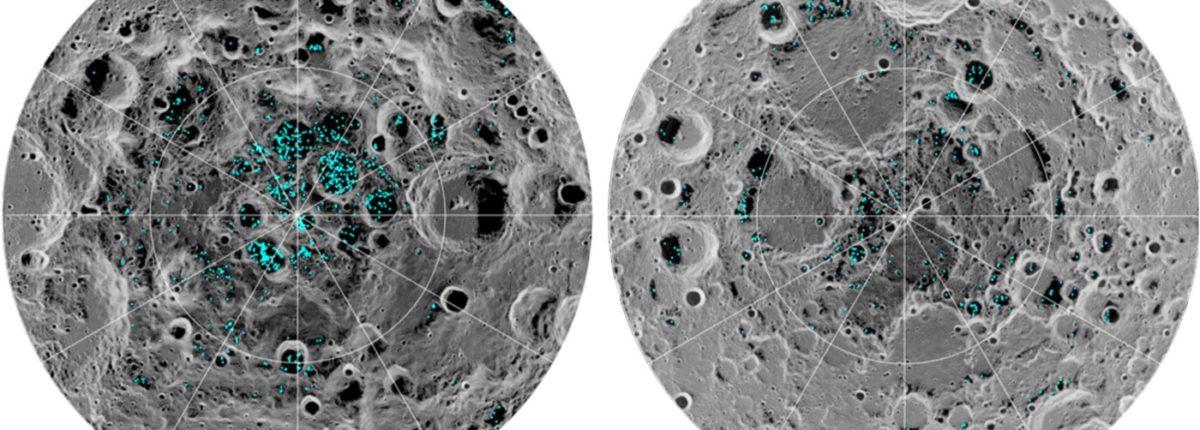Ученые подтвердили наличие ледников на полюсах Луны