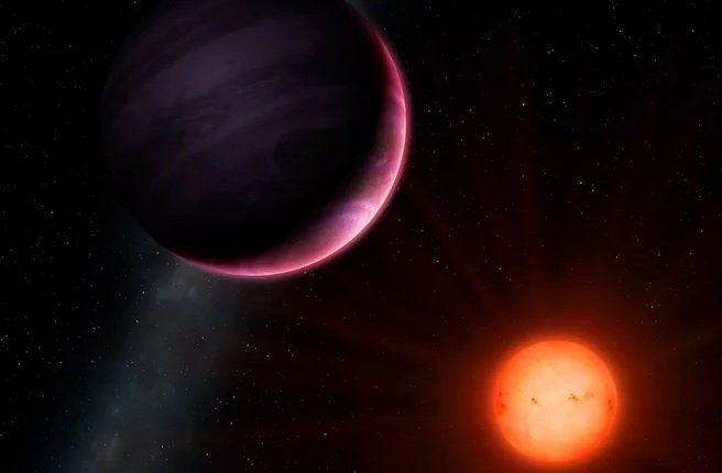 Обнаружен редкий случай вращения звезды вокруг планеты