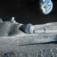 ЕКА собирается делать из лунной пыли кирпичи
