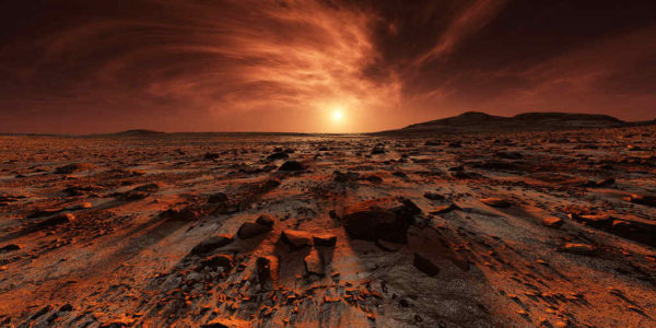 Исследователи предполагают о невозможности изменения климата на Марсе