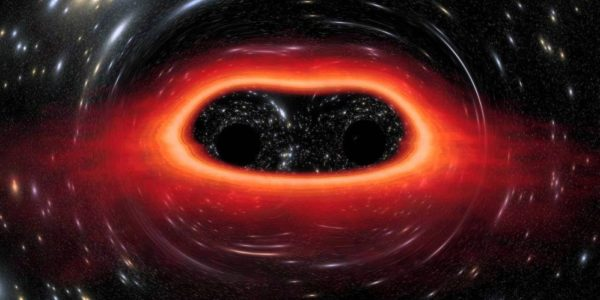 На окраине спиралевидных галактик существует вероятность обнаружения столкновения черных дыр