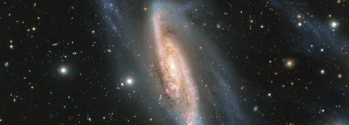 Впервые получено детальное изображение спиральной галактики NGC 3981