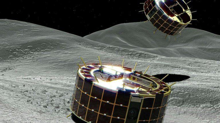 Японские роботы начали исследование астероида Рюгу