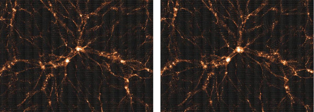 Ученые представили новую карту распределения материи во Вселенной