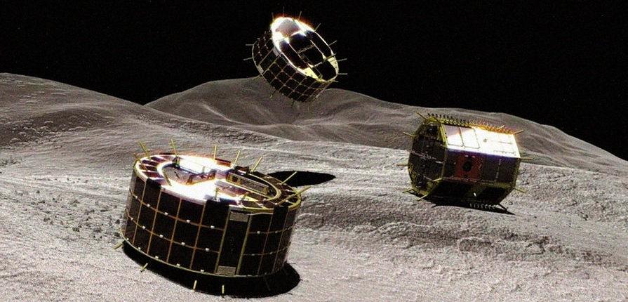 Японские роботы сделали первые фотографии на поверхности астероида Рюгу