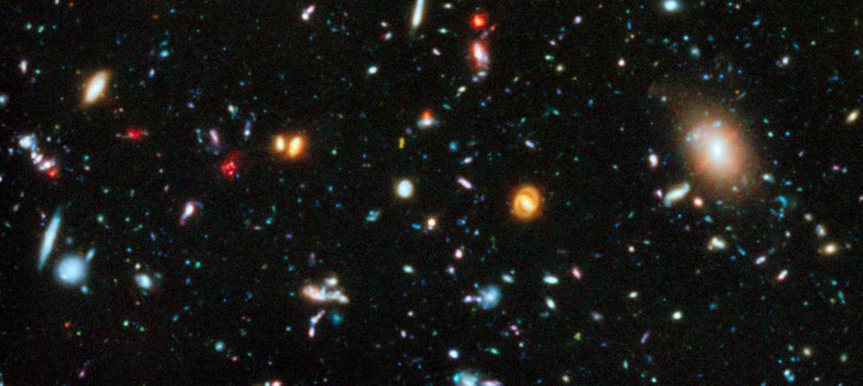 Хаббл будет наблюдать за первыми галактиками Вселенной