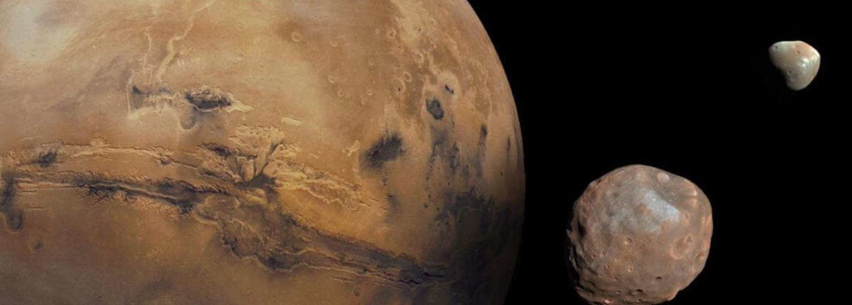 На Марс упал астероид, а после появились его спутники