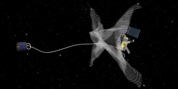 У космического мусора нет шансов: земляне научились очищать околоземное пространство