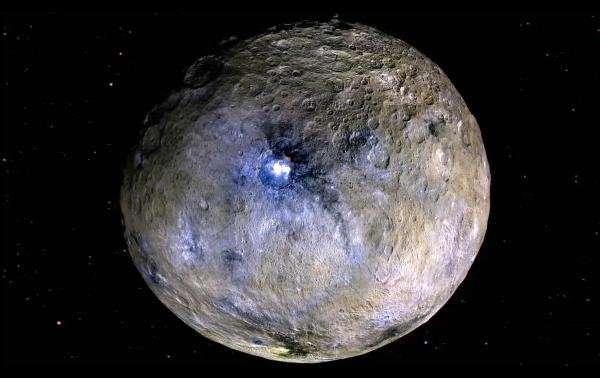 Ученый: полюс карликовой планеты Церера сместился на 36 градусов
