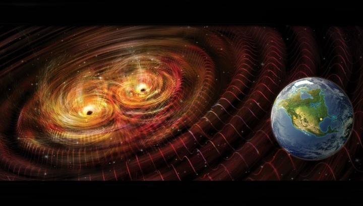 Астрономы зафиксировали еще один источник гравитационных волн