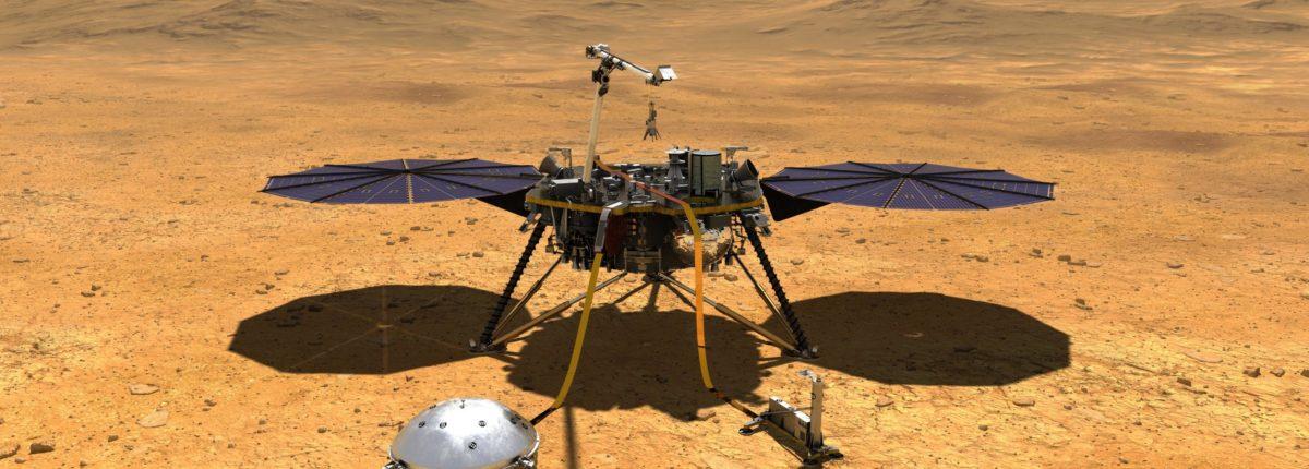 Как изучить весь Марс не двигаясь с места? — Расскажет InSight