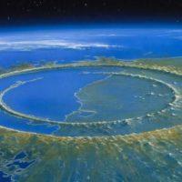 Астероид, убивший динозавров, превратил камни в воду