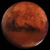 На полюсе Марса обнаружен объект дискообразной формы
