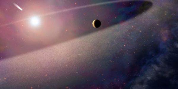 Обнаружена гигантская Луна за пределами Солнечной системы