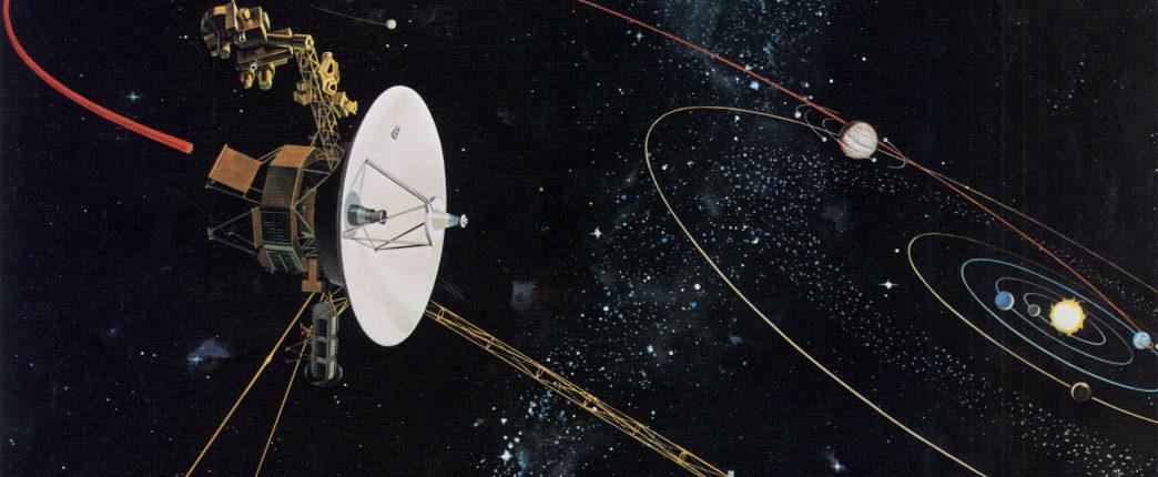 Voyager 2 отправился в космос 40 лет назад и достиг края Солнечной системы