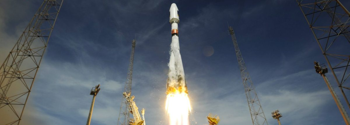 Ракета-носитель «Союз-СТ-Б» успешно вывела европейский спутник на орбиту