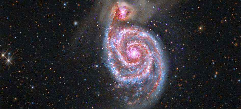 Астрономы обнаружили галактику-матрешку