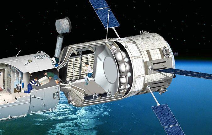 Китай активно работает над созданием второй МКС