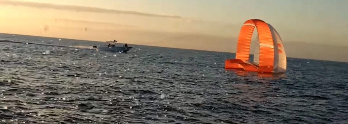 НАСА испытала парашют для посадки на Марс